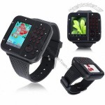 Unlocked Dual Sim Quad Bands Touch Screen Watch Cellphone Aoke10
