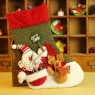 Upscale Flocking Christmas Stockings