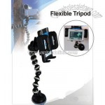 Vacuum Cup Flexible Tripod for GPS