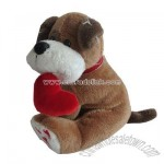 Valentine toys Stuffed Dog