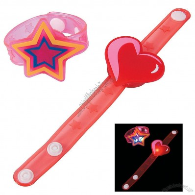 Valentine's Day Light-Up Bracelets