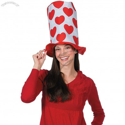 Valentine's Day Stovepipe Hat