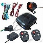 Valet Mode Car Alarm System with Positive and Negative Side-door Triggering