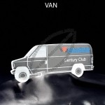 Van Shaped Acrylic Award
