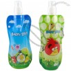 Vapur Angry Birds Collapsable Water Bottle 16oz