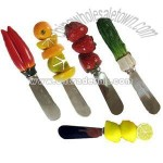Vegatable Butter Knife And Resin Spreader Gifts