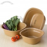 Vegetables Basin 3pcs Set