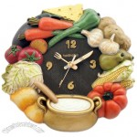 Vegetables Style Wall Clock