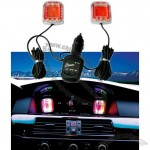 Vehicle interior Sound Control Music Light