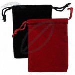 Velvet Pouch Drawstring Bag