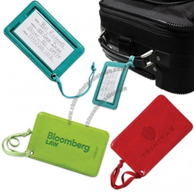 Venezia Leatherette Luggage Tag
