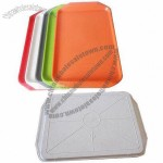 Versatile Colorful Plastic Serving Tray