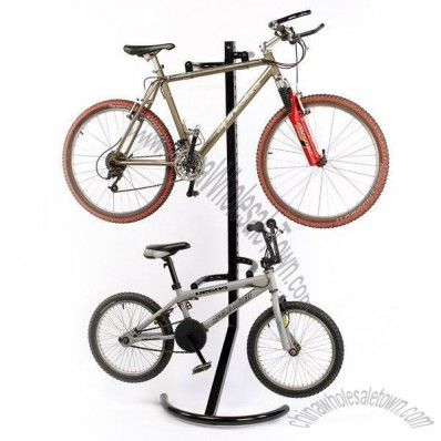 Vertical Bike Rack for 2 Bicycles