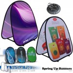 Vertical Pop Up and Spring Up Banners