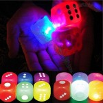 Vibe 6 Pack LED Light-Up Super Bounce Dice