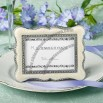 Victorian Design Place Card Holder / Frame Favor