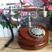 Vintage Classic Old Ligneous Rotary Dial Telephone