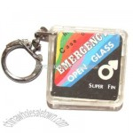 Vintage In Case of Emergency Condom Keychain