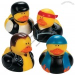Vinyl Biker Rubber Duckies