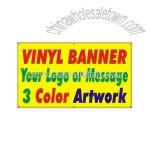 Vinyl signs and banners