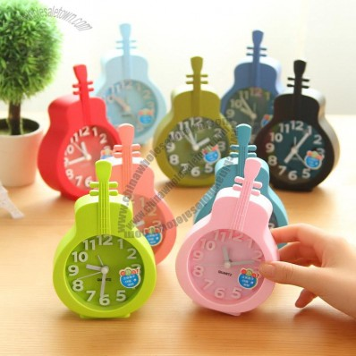 Violin Shaped Clocks