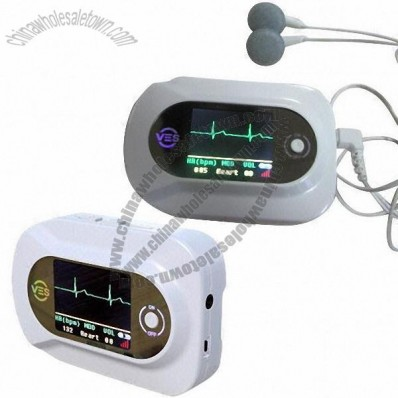 Visual Electronic Stethoscope with 1.8-inch Color LCD