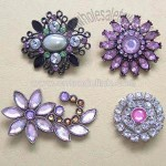 Vogue Alloy Costume Brooches