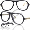 Vogue wooden eyeglass frame