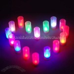 Voice Control LED Color Candle Light