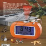 Voice Control Projector Turn Talking Clock