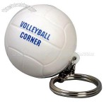 Volleyball Stress Ball Key Chain