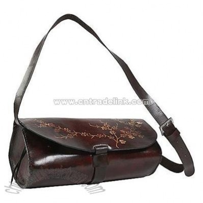 Wabags Tatto Leather Messenger