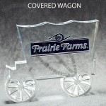 Wagon Shaped Acrylic Award