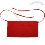 Waist apron red 65 / 35 poly / cotton twill