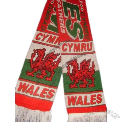 Wales Soccer Scarf