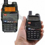 Walkie Talkie with FM Radio Receiver and 20 Channels, 2 x 128 Channels to Store