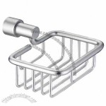Wall-mounted Aluminum Bathroom Wire Soap Basket