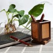 Walnut Rotatable Pen Holder