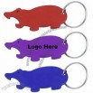 Walrus Shaped Bottle Opener Keychain