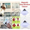 Wash Those Blues Away With The Uniquely-Designed Magnetic Glass Window Cleaner