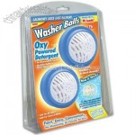 Washer Balls with Oxy Powered Detergent Laundry Balls- Set of 2
