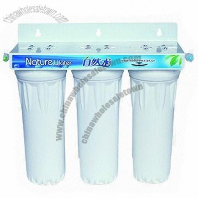Water Filters, Made of ABS, Available in White
