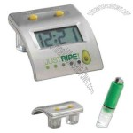 Water power alarm clock with green water battery