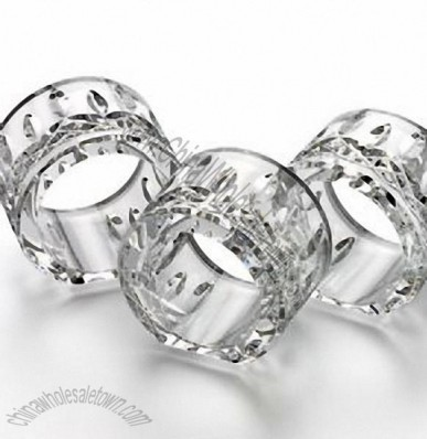 Waterford Crystal Lismore Napkin Rings