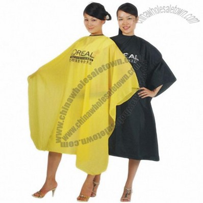 Waterproof Crinkle Nylon Cutting Cape