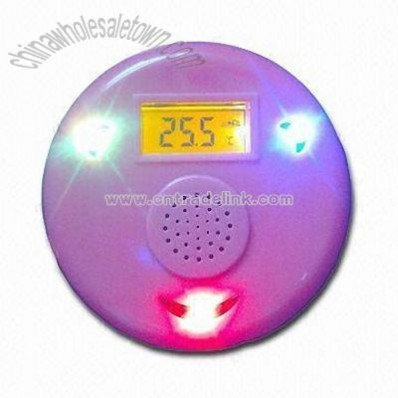 Waterproof Floating Musical Bath Thermometer with Speaker