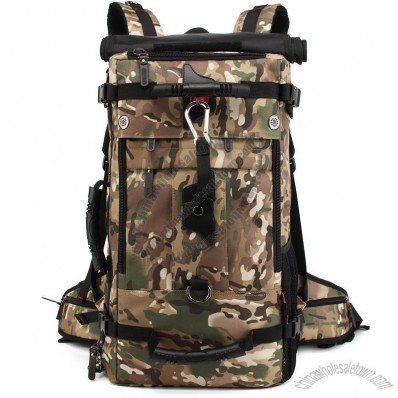 Waterproof Nylon Tactical Army Camouflage Backpack