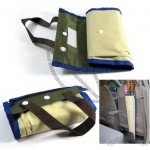 Waterproof Portable Folding Umbrella Storage Rain Gear Holder Bag Cover Case Pouch For Car