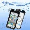 Waterproof Protective Case for iPhone 4 & 4S