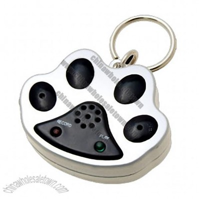 Waterproof Voice Recording Pet/Dog ID Tag